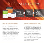 WANT TO THRIVE FOR FREE?