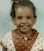 Brenda Woods when she was a baby.
