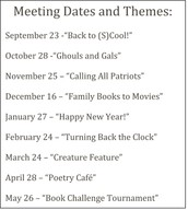 Book Challenge Club
