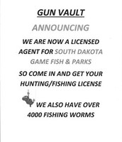 Gun Vault now offers hunting/fishing licenses