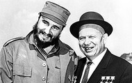 Castro and Khrushchev