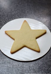 Easy star sugar cookies