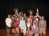 Native American Dancers to promote AISD POW WOW