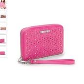SOLD! Chelsea Tech Wallet - glow pink perf