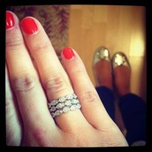 Deco Stacking Rings