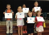 Mighty Mustangs - 1st Grading Period