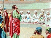 Stephen and the Sanhedrin