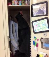 Middle of locker