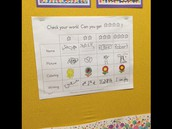 Rubric for Handwriting Expectations