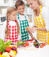 Kid-friendly food prep skills
