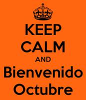 Bienvenidos Octubre!