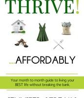Thrive!...Affordably by Jennifer Streaks