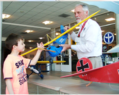 Is there a certain age to fly a model airplane?