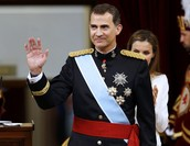 The king Felipe of Spain