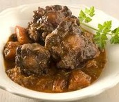 Oxtails Lunch $8.00 Dinner $11.00