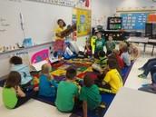 Presentations in Srta. Tirado's classroom