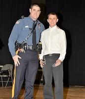 Patrolman DiGiacomo and James Gameron