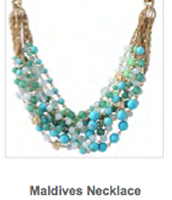 Maldives Necklace  Reg $118 ~ Sale $40
