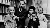 MLK With His Family