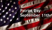 Patriot Day - Friday, September 11
