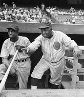 This picture shows negro baseball players which was my dream.