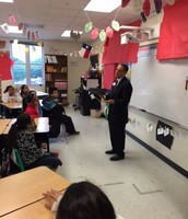 Cigarroa ES Hosts Trustee Flores and others for Career Day