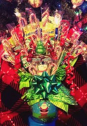 My Christmas candy bouquets are sure to make even the Grinch lite up and smile.