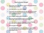Tips for Jam Juniors!