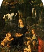 La Vierge aux Rocher