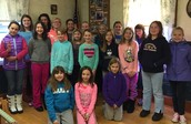 Groveland Brownie and Girl Scout Troops make major impact on MLK!