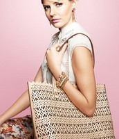 AVALON TOTE - BLUSH OR GERANIUM