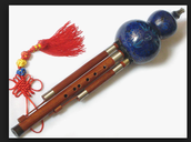 I have a Chinese flute. It is from China.