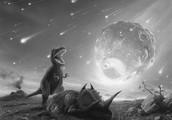 Astroid killing dinosaurs