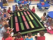 Kindergarten in Mrs. Baynes Class