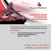 Ven a visitarnos en la 114th Canton Fair - Guangzhou
