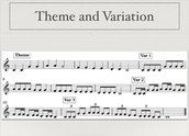 Theme and Variation