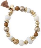 Meredith Stretch Mixed Bead Bracelet reg. $39   NOW $18