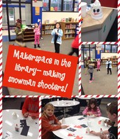 Making Snowman Shooters to learn about energy