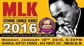 MLK Evening Program @ Baptist Memorial, FDL