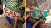34. Cuba: Grafitero en libertad