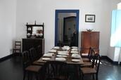sala de jantar mais rustica