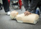 CPR is an emergency lifesaving procedure that is done when someone's breathing heart has stopped.