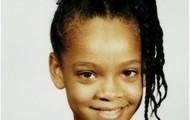 Rihanna when she was a kid.