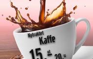 Nytraktet kaffe