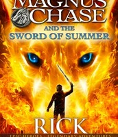 Magnus Chase and the Gods of Asgard series. #1 MC and teh Sword of Summer