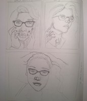 Self Portrait Thumbnails