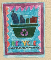 2nd grade Earth Day project