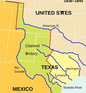Mexico / Texas annexations
