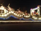 At the Santa Clause Parade in Brampton.