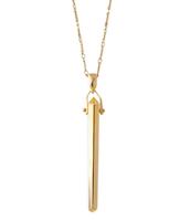 Rebel Pendant, Gold